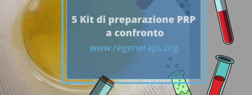 kit preparazione PRP a confronto fb